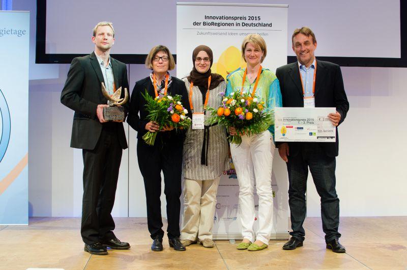 Preisträger des Innovationspreises 2015